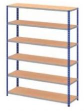 Boltless Stockroom Shelving